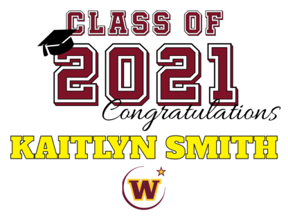 graduation yard sign with name