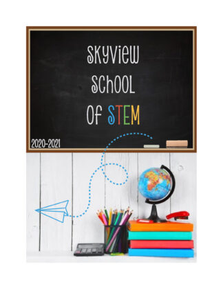 skyview elementary 2021 yearbook