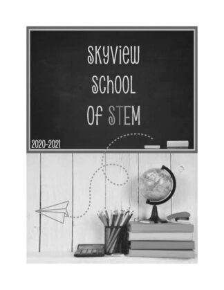 skyview yearbook black and white