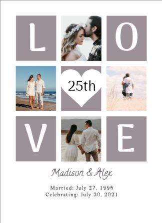 anniversary love card